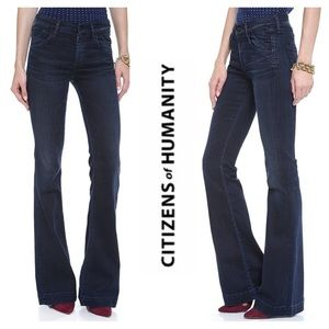 Citizens of Humanity High Rise Boot Cut Jeans 24